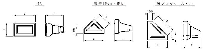 積みブロック製品図