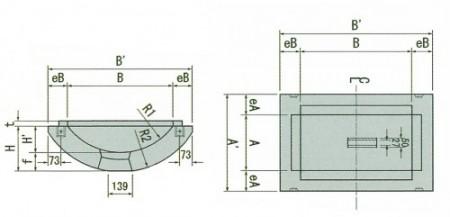 FR桝(中間ベース図)